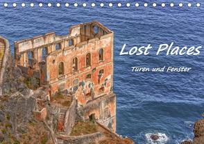 Lost Places – Türen und Fenster (Tischkalender 2021 DIN A5 quer) von Hackstein,  Bettina