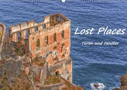 Lost Places – Türen und Fenster (Wandkalender 2021 DIN A2 quer) von Hackstein,  Bettina