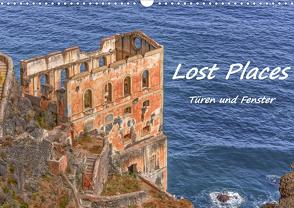 Lost Places – Türen und Fenster (Wandkalender 2021 DIN A3 quer) von Hackstein,  Bettina