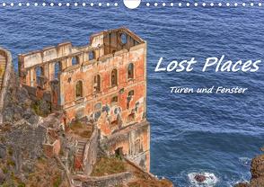 Lost Places – Türen und Fenster (Wandkalender 2021 DIN A4 quer) von Hackstein,  Bettina