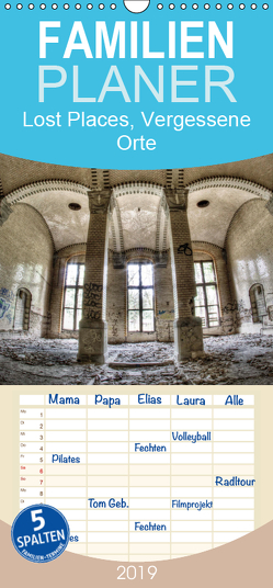 Lost Places, Vergessene Orte – Familienplaner hoch (Wandkalender 2019 , 21 cm x 45 cm, hoch) von Photography,  Stanislaw´s