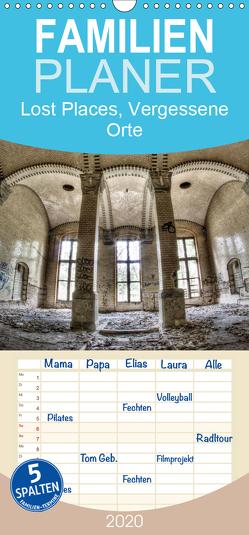 Lost Places, Vergessene Orte – Familienplaner hoch (Wandkalender 2020 , 21 cm x 45 cm, hoch) von Photography,  Stanislaw´s