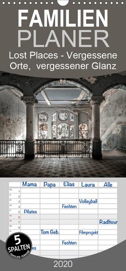 Lost Places – vergessene orte vergessener glanz – Familienplaner hoch (Wandkalender 2020 , 21 cm x 45 cm, hoch) von Jerneizig,  Oliver