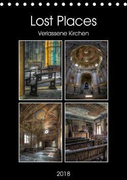 Lost Places – Verlassene Kirchen (Tischkalender 2018 DIN A5 hoch) von Buchspies,  Carina