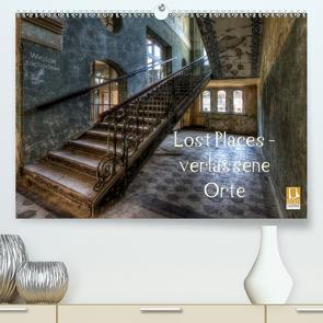 Lost Places – Verlassene Orte (Premium, hochwertiger DIN A2 Wandkalender 2021, Kunstdruck in Hochglanz) von Buchspies,  Carina