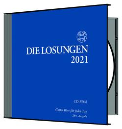 Losungen Deutschland 2021 / Losungs-CD von Herrnhuter Brüdergemeine