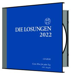 Losungen Deutschland 2022 / Losungs-CD von Herrnhuter Brüdergemeine