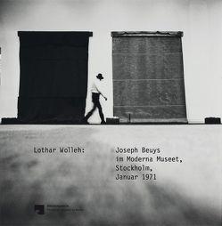 Lothar Wolleh. Joseph Beuys im Moderna Museet, Stockholm, Januar 1971 von Blume,  Eugen, Halwani,  Miriam, Kittelmann,  Udo