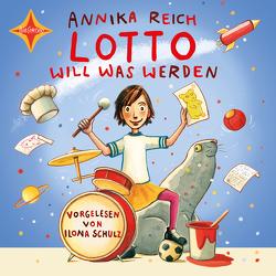 Lotto will was werden von Reich,  Annika