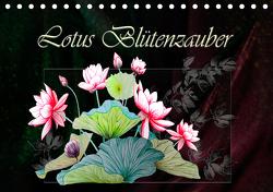 Lotus Blütenzauber (Tischkalender 2021 DIN A5 quer) von Djeric,  Dusanka