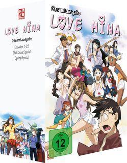 Love Hina – DVD Gesamtbox von Iwasaki,  Yoshiaki