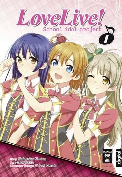 Love Live! School idol project 01 von Ilgert,  Sakura, Kimino,  Sakurako, Tokita,  Arumi