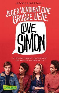Love, Simon (Filmausgabe) von Albertalli,  Becky, Herzke,  Ingo