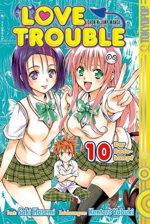 Love Trouble 10 von Hasemi,  Saki, Yabuki,  Kentaro