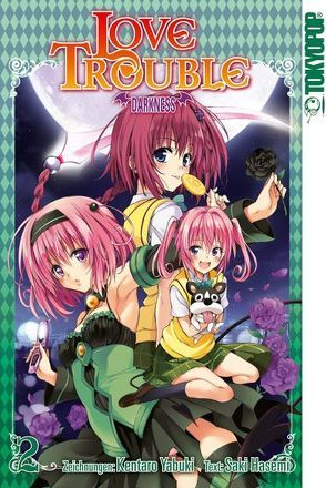 Love Trouble Darkness 02 von Hasemi,  Saki, Yabuki,  Kentaro
