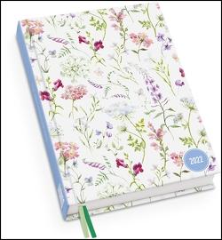 Lovely Flowers Taschenkalender 2022 ‒ Blumen-Design ‒ Terminplaner mit Wochenkalendarium ‒ Format 11,3 x 16,3 cm