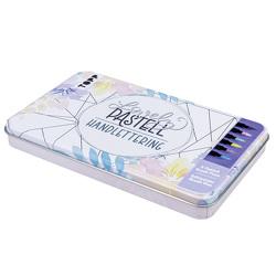 Lovely Pastell Handlettering Brush Pens mit Designdose von Blum,  Ludmila, frechverlag