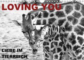 LOVING YOU – Liebe im Tierreich (Wandkalender 2018 DIN A4 quer) von Düll,  Sigrun