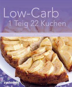 Low-Carb 1 Teig 22 Kuchen von Strecker,  Beate