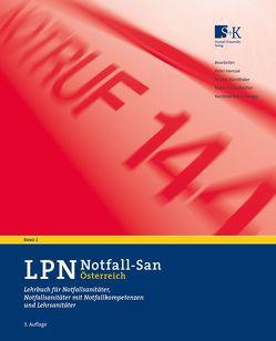 LPN-Notfall-San Österreich, Band 2 von Bärnthaler,  Martin, Hansak,  Peter, Pessenbacher,  Klaus, Petutschnigg,  Berthold