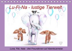 Lu-Fi-Na – lustige Tierwelt (Tischkalender 2019 DIN A5 quer) von Nowak,  Ela