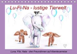 Lu-Fi-Na – lustige Tierwelt (Tischkalender 2020 DIN A5 quer) von Nowak,  Ela