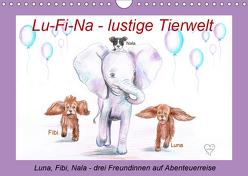 Lu-Fi-Na – lustige Tierwelt (Wandkalender 2019 DIN A4 quer) von Nowak,  Ela