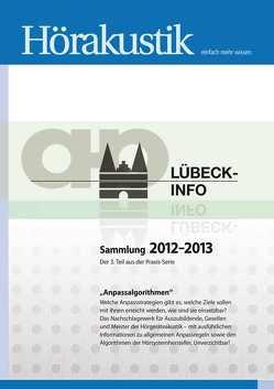 LÜBECK-INFO Sammlung 2012-2013 Anpassalgorithmen von Burmeister,  Volker, Vagt,  Katrin
