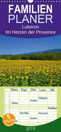 Luberon. Im Herzen der Provence – Familienplaner hoch (Wandkalender 2019 , 21 cm x 45 cm, hoch) von Werner,  Reinhard