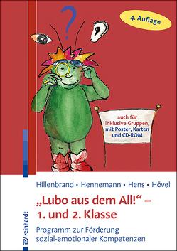 """""""Lubo aus dem All!"""" – 1. und 2. Klasse von Hennemann,  Thomas, Hens,  Sonja, Hillenbrand,  Clemens, Hövel,  Dennis"""