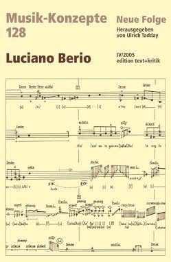 Luciano Berio von Tadday,  Ulrich