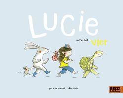 Lucie und die Vier von Dubuc,  Marianne, Süßbrich,  Julia