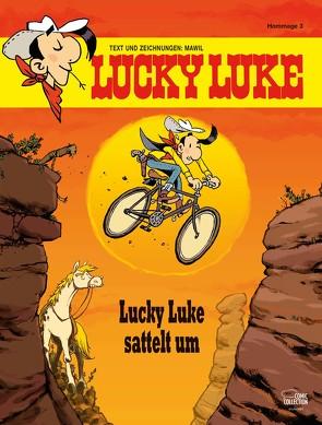 Lucky Luke sattelt um von Mawil