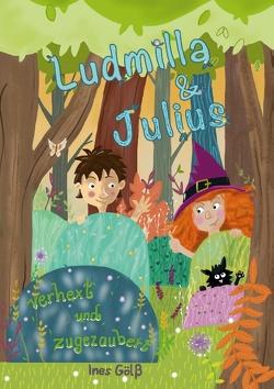 Ludmilla und Julius von Gölß,  Ines