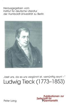 Ludwig Tieck (1773-1853)