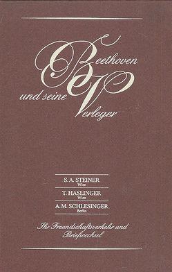 Ludwig van Beethoven und seine Verleger von Unger,  Max