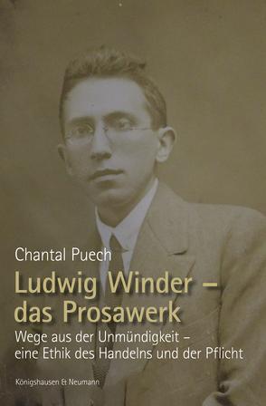 Ludwig Winder – das Prosawerk von Puech,  Chantal