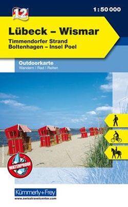 Lübeck – Wismar Nr. 12 Outdoorkarte Deutschland 1:50 000