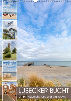 LÜBECKER BUCHT Historische Orte und Strandidylle (Wandkalender 2019 DIN A3 hoch) von Viola,  Melanie