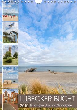 LÜBECKER BUCHT Historische Orte und Strandidylle (Wandkalender 2019 DIN A4 hoch) von Viola,  Melanie