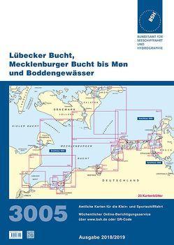 Lübecker Bucht, Mecklenburger Bucht bis Møn und Boddengewässer von Bundesamt für Seeschifffahrt und Hydrographie