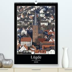 Lügde (Premium, hochwertiger DIN A2 Wandkalender 2020, Kunstdruck in Hochglanz) von Lindert-Rottke,  Antje