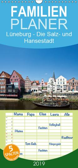 Lüneburg – Die Salz- und Hansestadt – Familienplaner hoch (Wandkalender 2019 , 21 cm x 45 cm, hoch) von Akrema-Photography