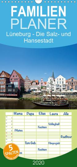 Lüneburg – Die Salz- und Hansestadt – Familienplaner hoch (Wandkalender 2020 , 21 cm x 45 cm, hoch) von Akrema-Photography