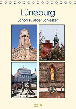Lüneburg, schön zu jeder Jahreszeit (Tischkalender 2019 DIN A5 hoch) von Bagunk,  Anja