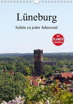 Lüneburg, schön zu jeder Jahreszeit (Wandkalender 2019 DIN A4 hoch) von Bagunk,  Anja