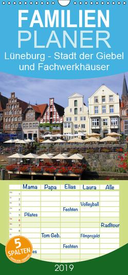 Lüneburg – Stadt der Giebel und Fachwerkhäuser – Familienplaner hoch (Wandkalender 2019 , 21 cm x 45 cm, hoch) von Reupert,  Lothar