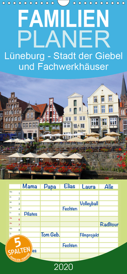 Lüneburg – Stadt der Giebel und Fachwerkhäuser – Familienplaner hoch (Wandkalender 2020 , 21 cm x 45 cm, hoch) von Reupert,  Lothar