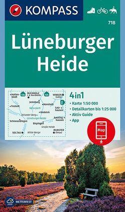 Lüneburger Heide von KOMPASS-Karten GmbH