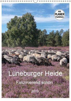 Lüneburger Heide – Faszinierend schön (Wandkalender 2019 DIN A3 hoch) von Nack,  Heike